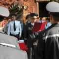 молодые сотрудники милиции приняли Присягу у памятного знака