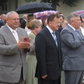 мэр Александр Палышенков, губернатор Константин Сумар, председатель облсовета Де
