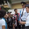 приветливые милиционеры