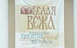 XVII Международный театральный фестиваль «БЕЛАЯ ВЕЖА – 2012. КЛАССИКА PLUS»