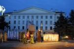 сказание о св. Францишке на площади Ленина