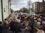 митинг у мемориальной досски В.П. Асташенку