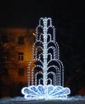 Зимний фонтан в Бресте