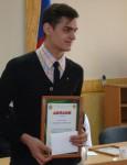 победитель  конкурса Виктор Малыха