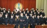 Юные кадеты  средней школы №28 Бреста приняли первую в своей жизни Присягу.