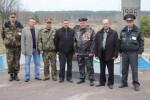 те, кто работал и те, кто сегодня служит в зоне отчуждения у деревни Тешков