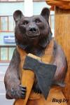 медведи на бульваре Т. Шевченко