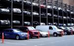 первая многоуровневая парковка в Бресте
