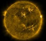 Солнце - смайлик