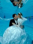свадьба под водой