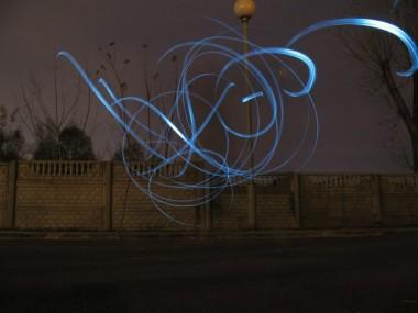 В Бресте появились рисунки в воздухе!
